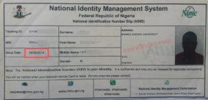 Check national id card