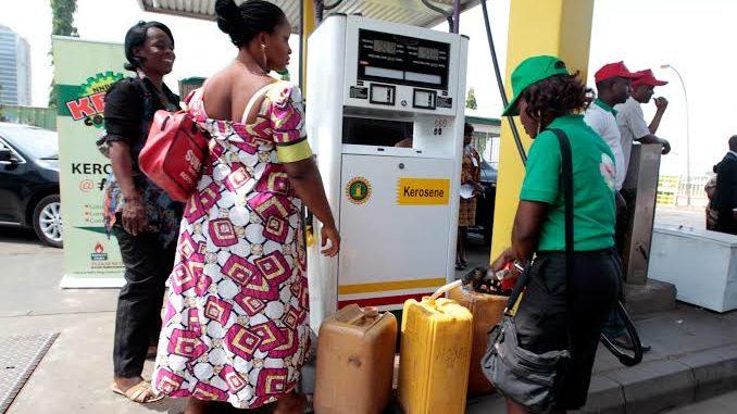Kerosene supply business